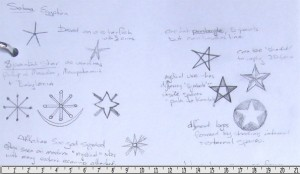 Sketches from ancient star images